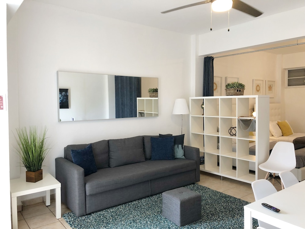 Living Room, Boulevard Park IV 102 - This Is It Puerto Rico