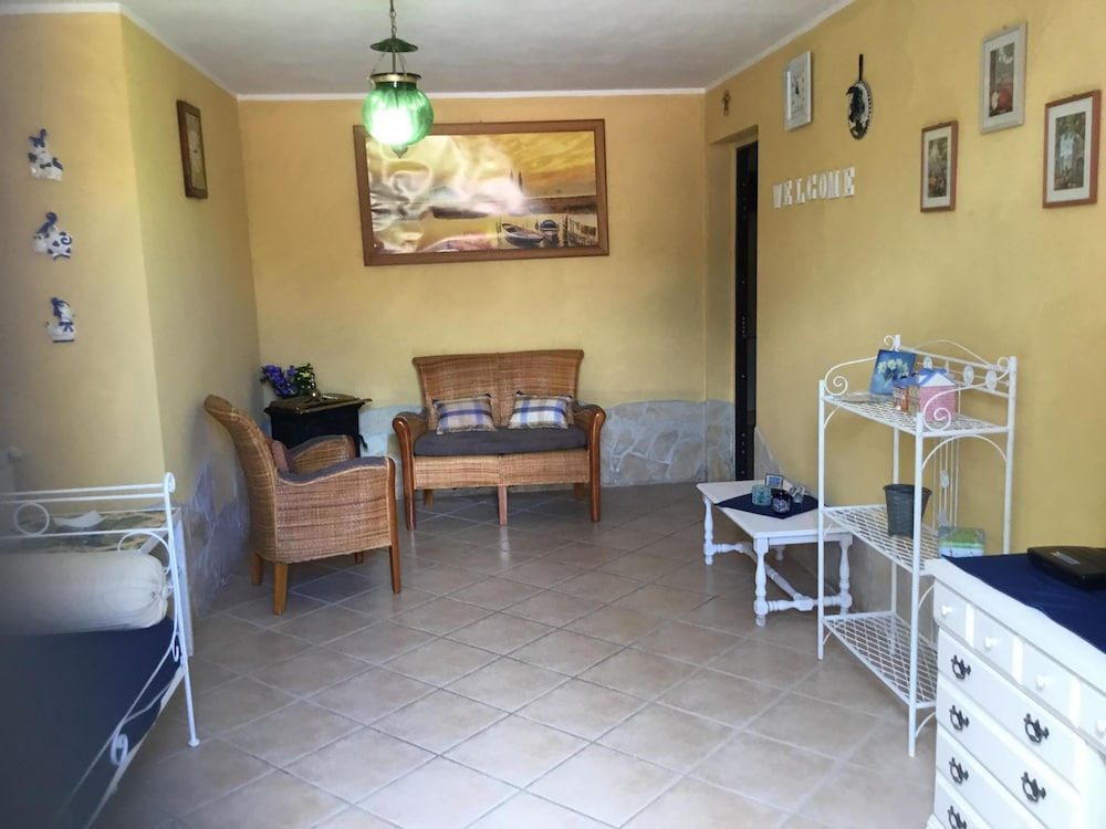 Living Room, House in the Countryside Near Cerveteri