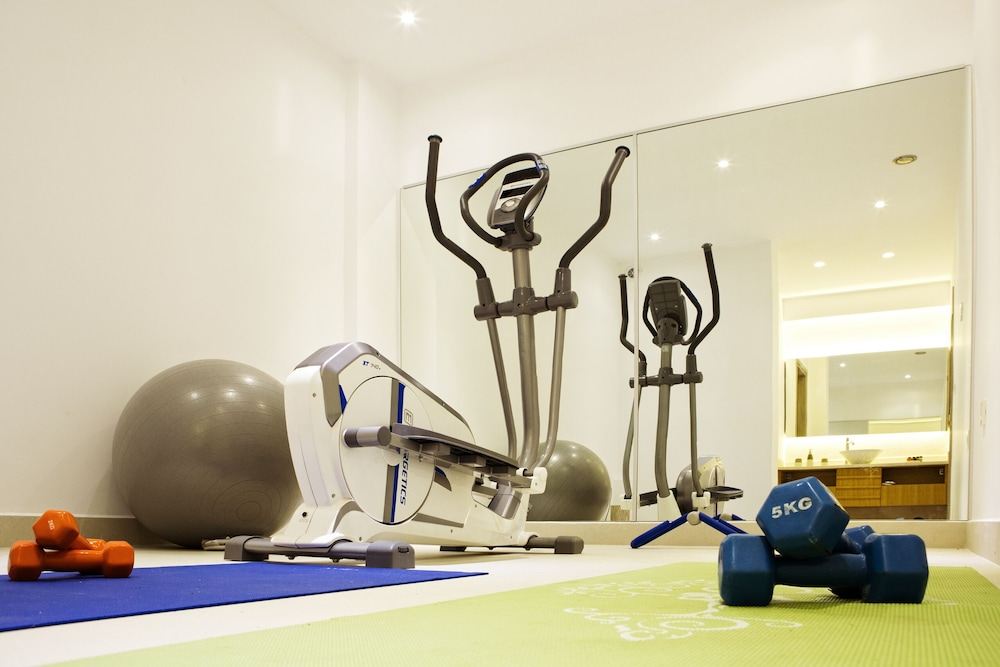 Fitness Facility, Lux Villa Private Pool Beach at 150mt Sea View 4 Bdr 5 Bathrooms