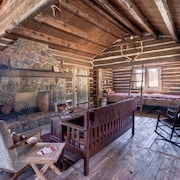 Authentic 1800's Cabin On A Beautiful 400+ Acre Mountain Ranch