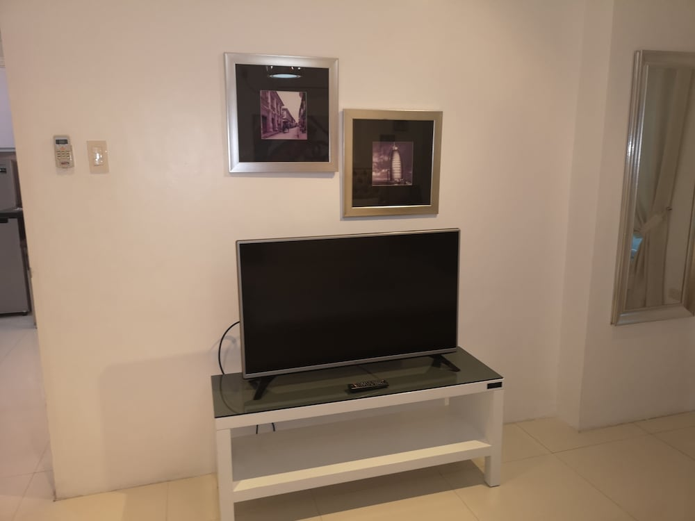 Living Room, Large Luxurious 1 bedroom in kandi towers 1&2  in  Angeles city  Philippines