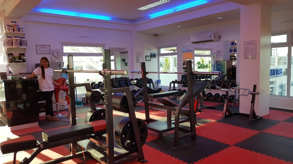 Fitness Facility, Large Luxurious 1 bedroom in kandi towers 1&2  in  Angeles city  Philippines