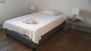 Blackout curtains, free cots/infant beds, rollaway beds, free WiFi