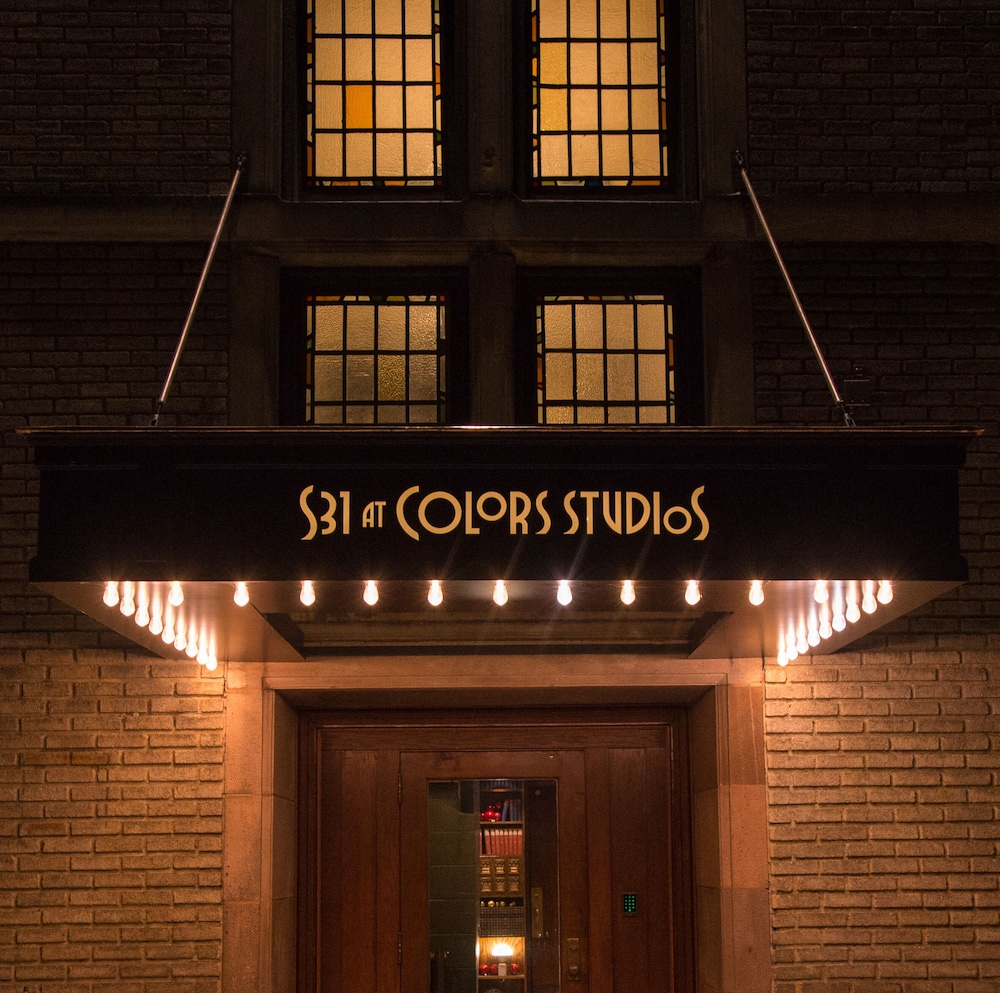 Property Entrance, School 31 Lofts at Colors Studios