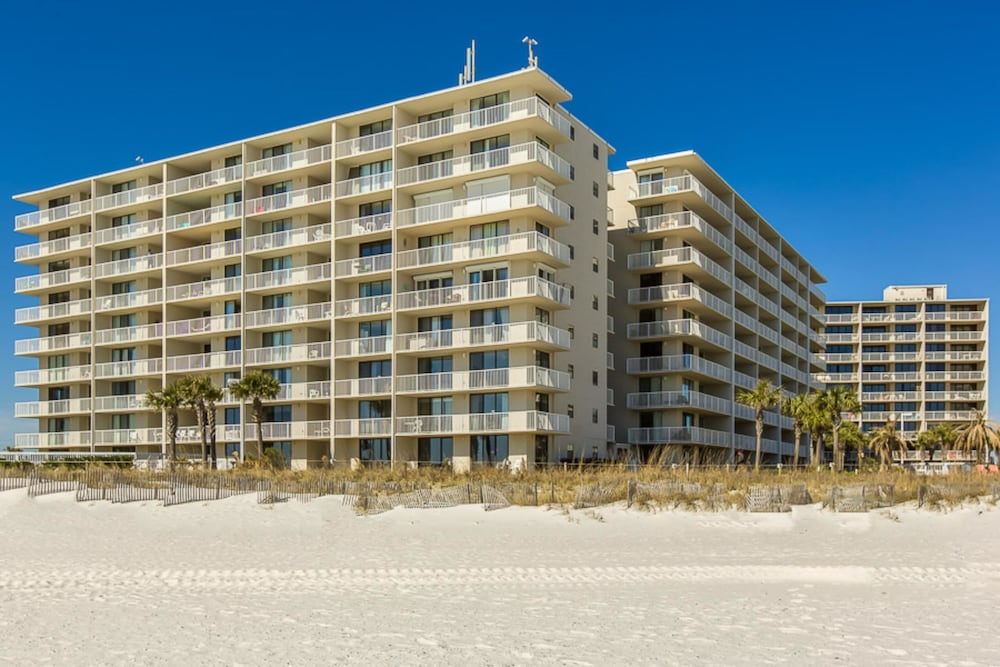 Exterior, Seaside Beach & Racquet Club #3806 by Vacasa