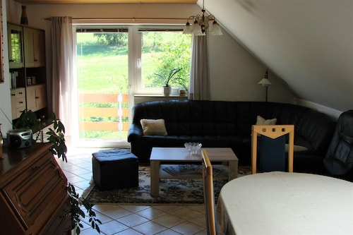 Quiet Close to Nature Apartment for 2 Persons With Balcony Near Dresden