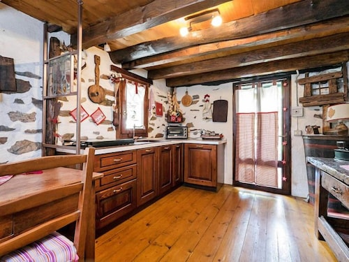Private Kitchen, Vacation Home Il Gianlupo in Bognanco - 4 Persons, 1 Bedrooms