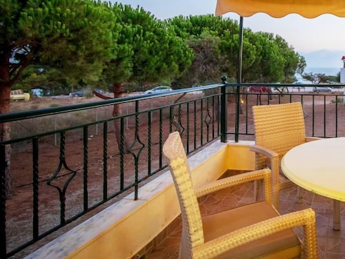 Balcony, Vacation Home Navarino Villas by Xenia Resorts in Navarino-beach, Romanos - 4 Persons, 1 Bedrooms