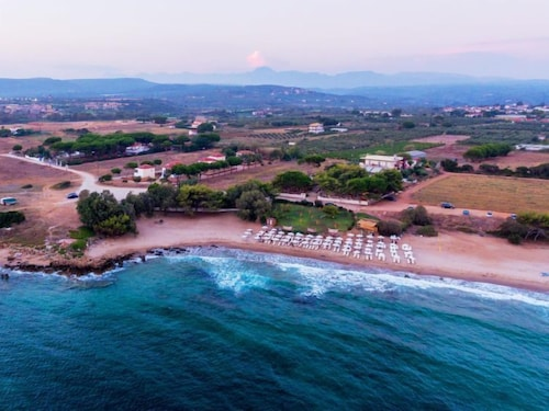 Beach, Vacation Home Navarino Villas by Xenia Resorts in Navarino-beach, Romanos - 4 Persons, 1 Bedrooms