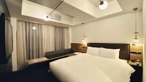 Down comforters, in-room safe, iron/ironing board, free WiFi