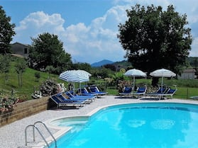 Studio in Montesecco, With Wonderful sea View, Pool Access, Furnished Garden - 40 km From the Beach