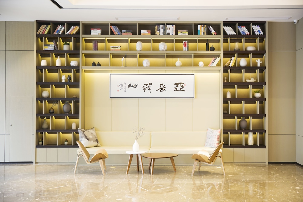 Lobby Sitting Area, Atour Hotel High Tech Zone Zhangjiakou