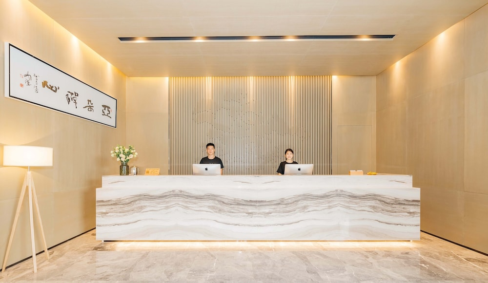Reception, Atour Hotel High Tech Zone Zhangjiakou