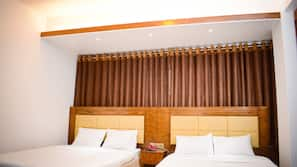 Hypo-allergenic bedding, pillow-top beds, minibar, soundproofing