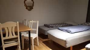 Strykejern/-brett, wi-fi (inkludert) og sengetøy