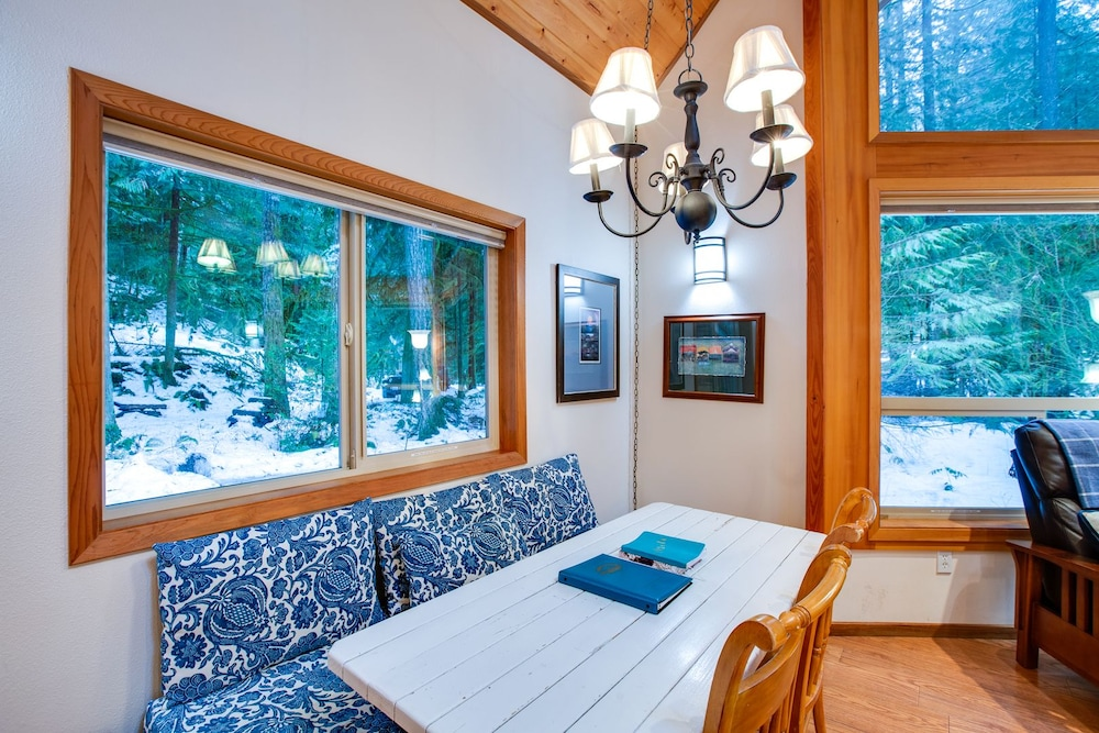 Private Kitchen, Mt. Baker Lodging  Cabin 4 –Pet Friendly, Sleeps 5! by MBL