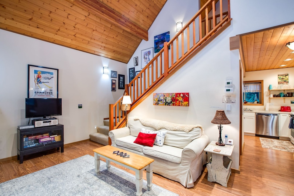Living Room, Mt. Baker Lodging  Cabin 4 –Pet Friendly, Sleeps 5! by MBL
