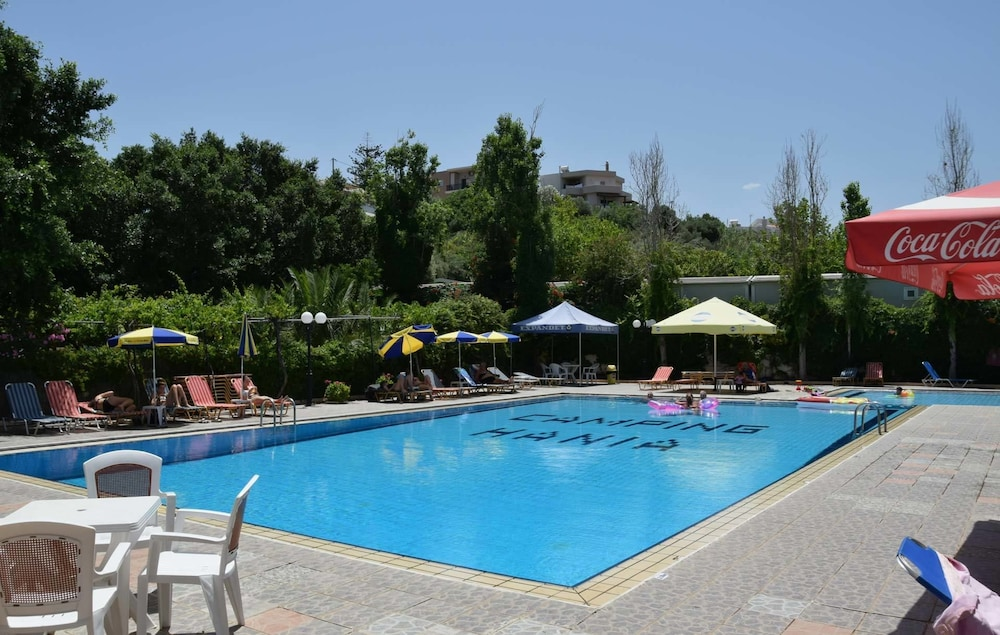 Outdoor Pool, Camping Chania