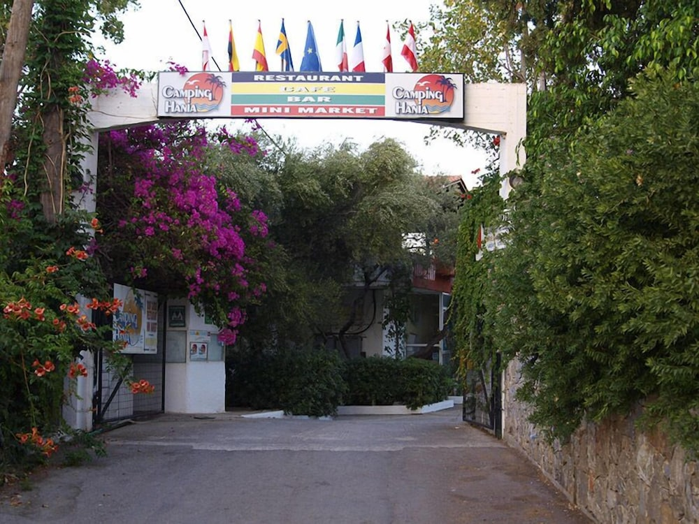 Property Entrance, Camping Chania