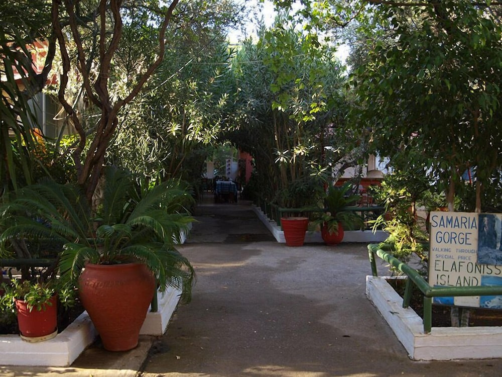 Courtyard, Camping Chania