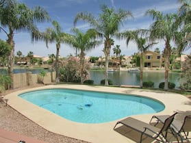 4BR Ocotillo Lakeview Home w/ Pool