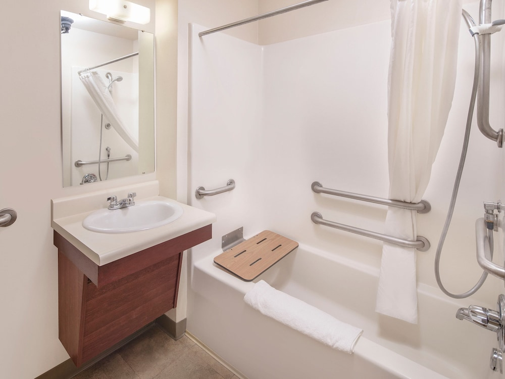 Bathroom, Woodspring Suites Redlands San Bernardino