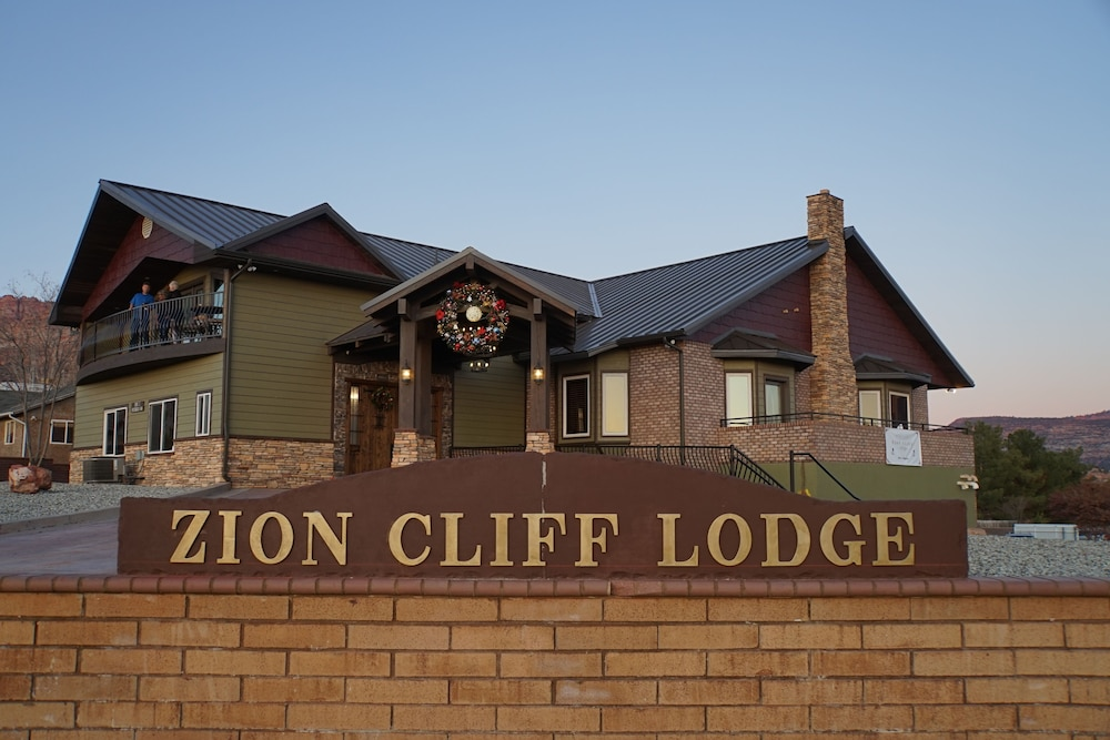 Front of Property, Zion Cliff Lodge