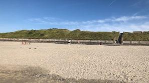 On the beach, 2 beach bars