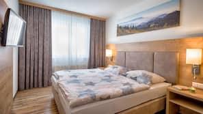 1 Schlafzimmer, Zimmersafe, kostenloses WLAN, Bettwäsche