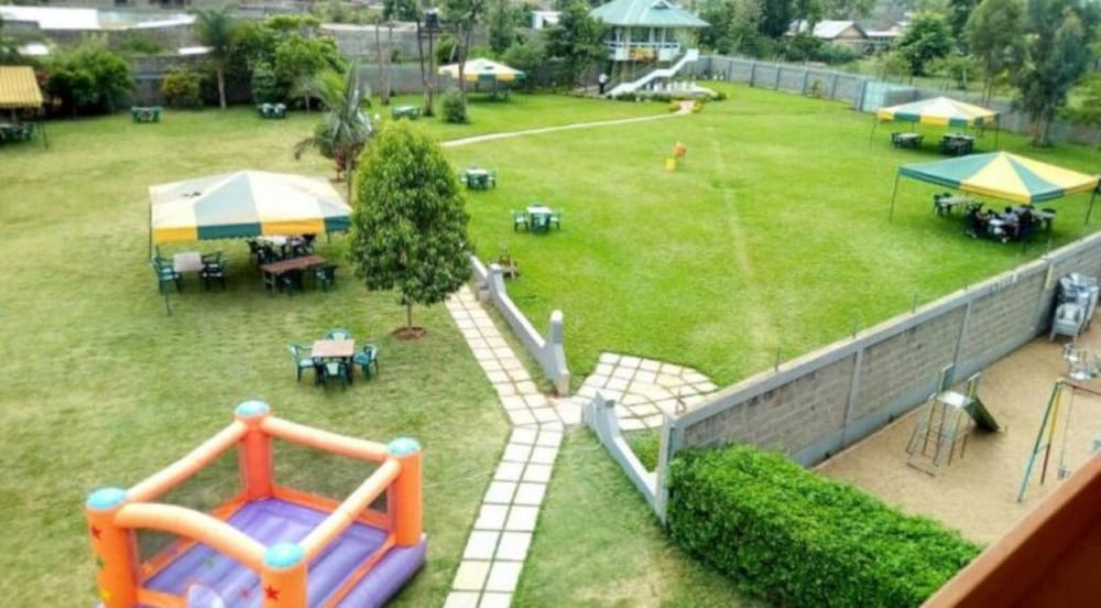 Children's Play Area - Outdoor, Golden Palm Breeze Hotel