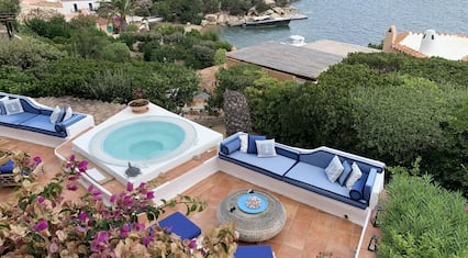 Villa With 4 Bedrooms in Porto Rafael , With Wonderful sea View and Enclosed Garden - 400 m From the Beach