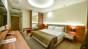 In-room safe, soundproofing, free cribs/infant beds, free WiFi