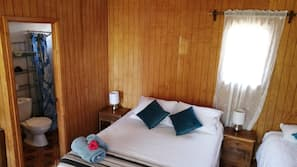 Premium bedding, pillow-top beds, in-room safe, laptop workspace