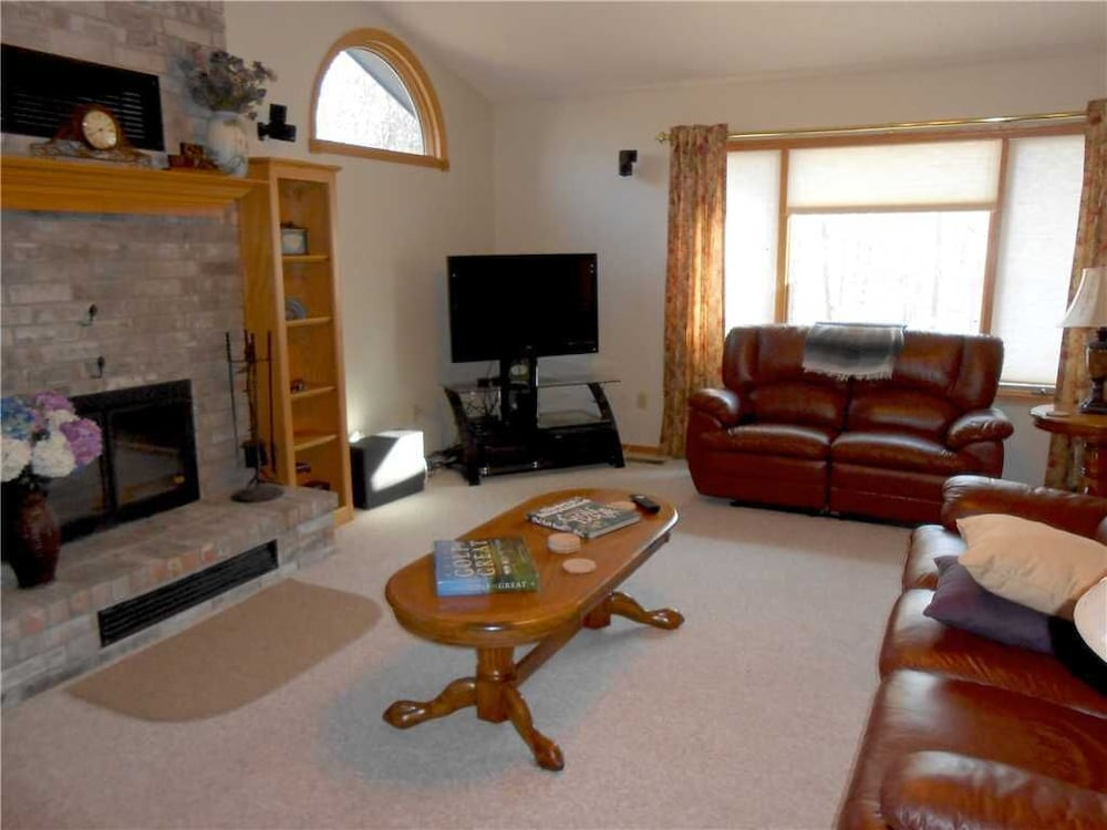 Living Room, Beautiful Home in Wooded Neighborhood