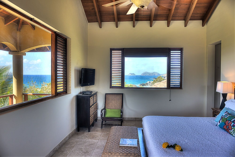 Room, Gorgeous 3 BR Villa With Spectacular Views of Crook's Bay. Renovated & Ready!