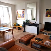 Private Apartment Along the Scheldt + Private Parking