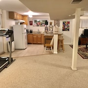 Large Half Basement Near NIH Bethesda Maryland USA