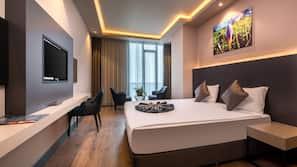 Egyptian cotton sheets, premium bedding, Select Comfort beds, minibar