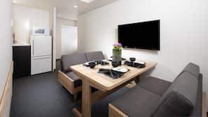 In-room safe, desk, free cribs/infant beds, free WiFi