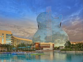 The Oasis Tower at Seminole Hard Rock