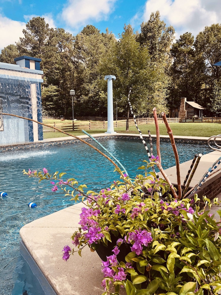 Outdoor Pool, Coulter Farmstead