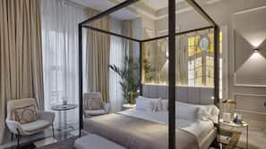 Kostenlose Minibar, Zimmersafe, Verdunkelungsvorhänge