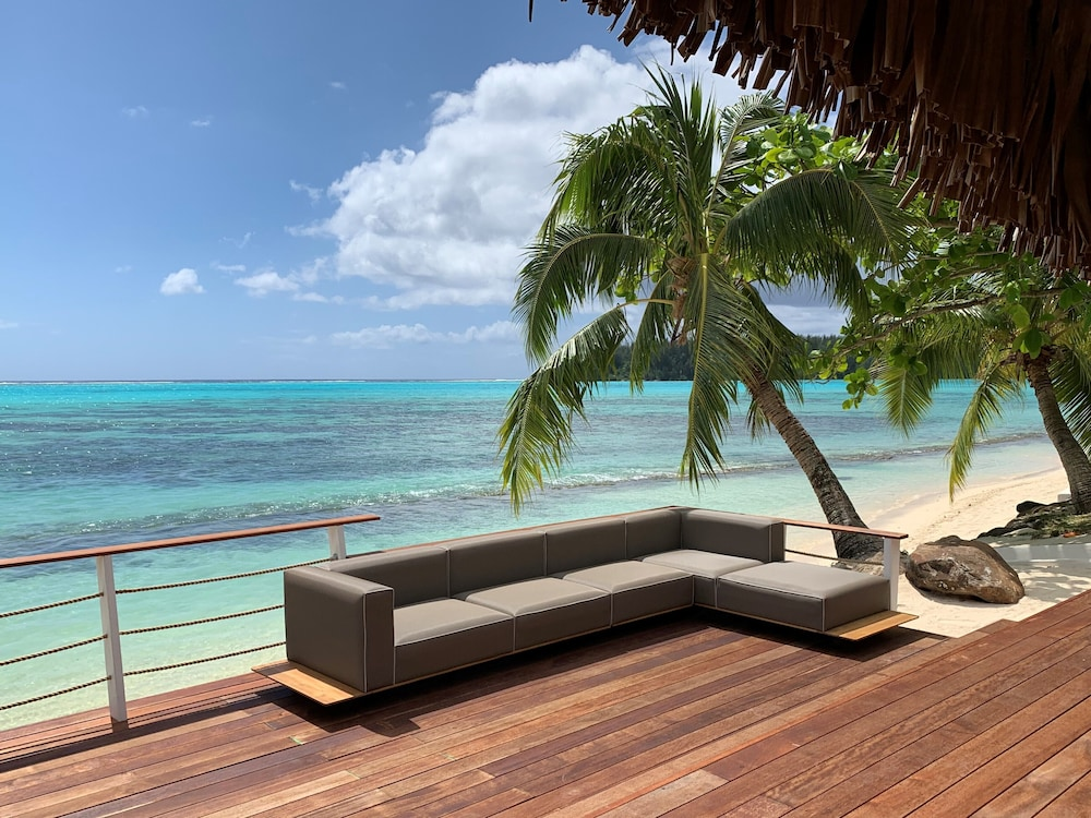 Terrace/Patio, Moorea Island Beach