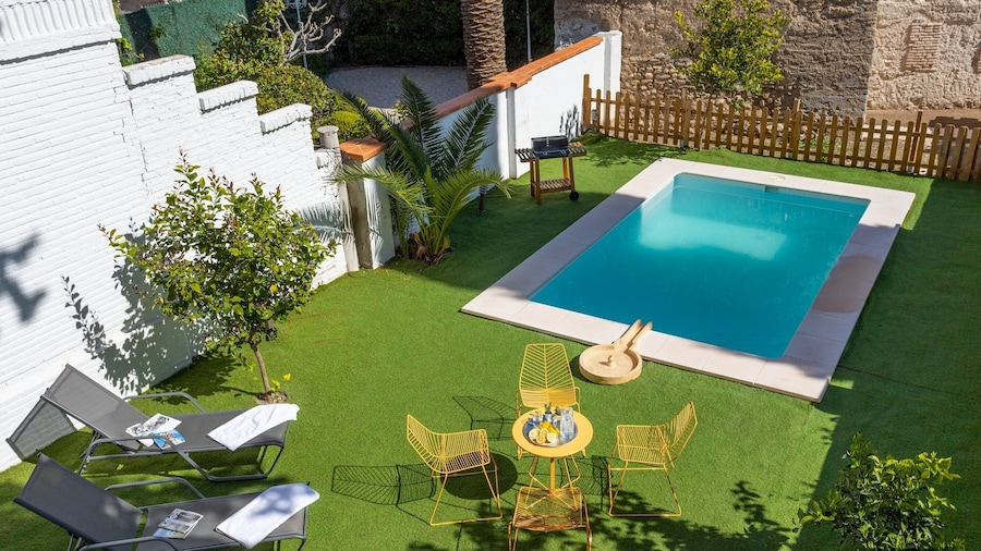 Amazing House 5 Bd in Albaicín With Private Terrace & Pool. San Nicolas Belvedere