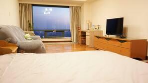 1 間臥室、Wi-Fi、床單、方便輪椅出入