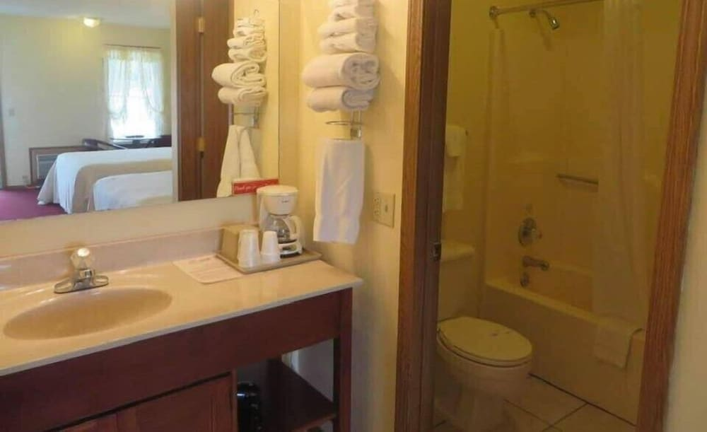 Bathroom, Honeysuckle Inn - Mountain View