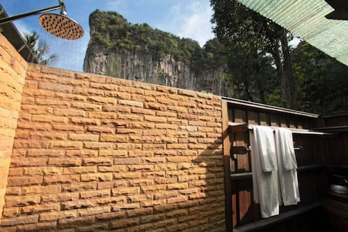 Covered Outdoor Bathroom Railay Beach
