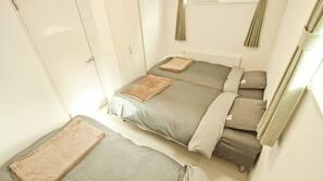 4 bedrooms, WiFi, linens