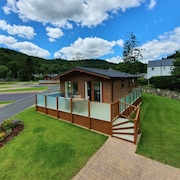 The Llyn Brenig Luxury Lodge @hendrerhysgethin