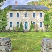 Wells Colonial Home Set on 9 Acres w/ Deck